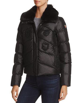 Post Card - Greylock Fur Trim Down Coat