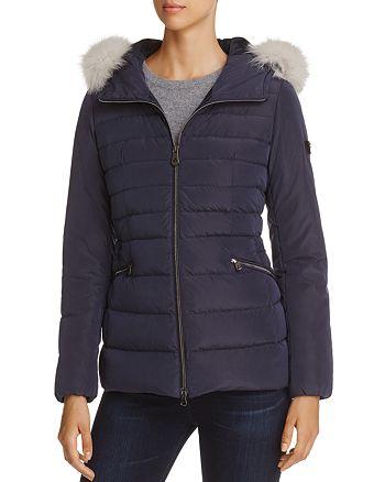 size 40 1b939 52204 Peuterey Turmalet Fox Fur Trim Down Coat | Bloomingdale's