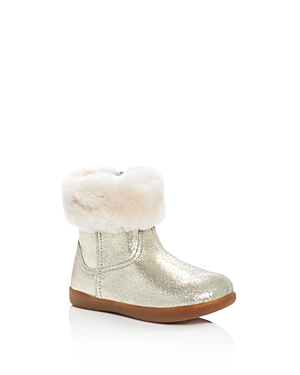 Ugg Girls Jorie Ii Leather  Sheepskin Boots  Walker Toddler