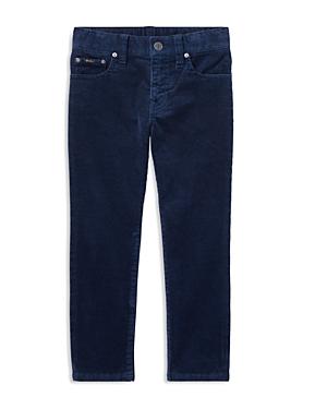 Ralph Lauren Childrenswear Boys Stretch Corduroy Pants  Little Kid