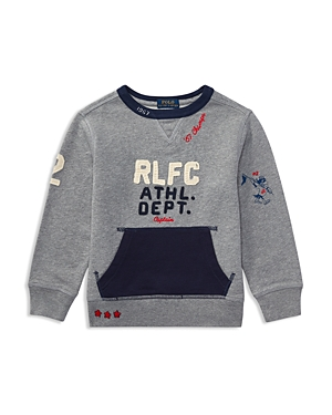 Ralph Lauren Childrenswear Boys' Graphic Sweatshirt - Little Kid