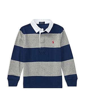 Ralph Lauren Childrenswear Boys Rugby Shirt  Little Kid