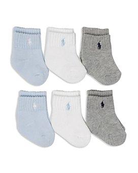 Ralph Lauren - Boys' Socks, 6 Pack - Baby