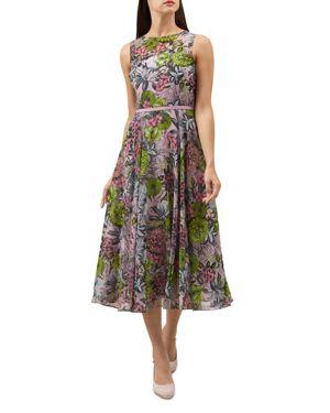 Hobbs London Georgie Floral Midi Dress