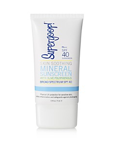 Supergoop! Skin Soothing Mineral Sunscreen with Olive Polyphenols SPF 40 - Bloomingdale's_0