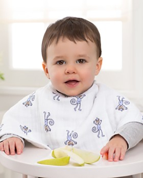 Aden and Anais - Infant Unisex Jungle Jam Burpy Bibs