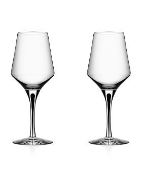 Orrefors - Metropol White Wine Glass, Set of 2