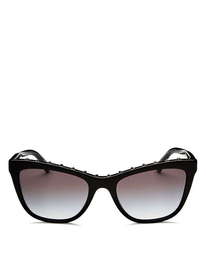 Valentino - Women's Studded Cat Eye Sunglasses, 54mm