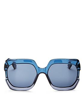 Dior - Women's Gaia Square Sunglasses, 58mm