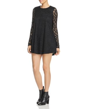 Show Me Your MuMu Tyler Lace Tunic Dress
