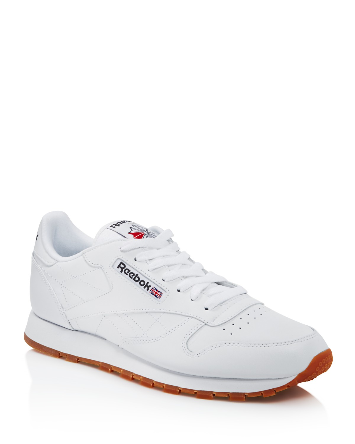 Reebok Men's Classic Leather Lace Up Sneakers mP5YxxbF