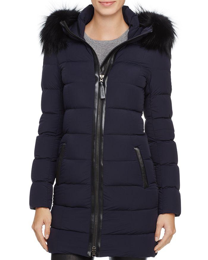 Mackage - Calla Fox Fur Trim Down Coat