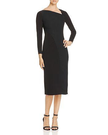 Burberry - Fabiana Seamed Sheath Dress