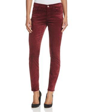 7 For All Mankind Skinny Ankle Velvet Jeans in Scarlett 2691449