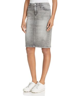 Calvin Klein Denim Pencil Skirt