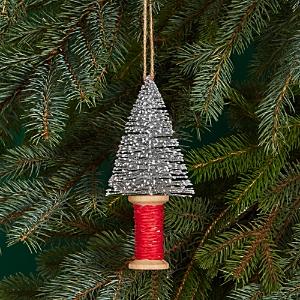 Bloomingdale's Glitter Tree Spool Ornament - 100% Exclusive
