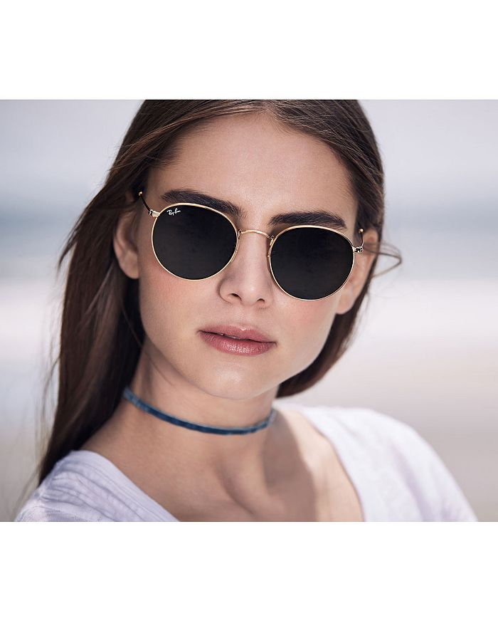 3e95458be Ray-Ban Unisex Icons Round Sunglasses, 53mm | Bloomingdale's