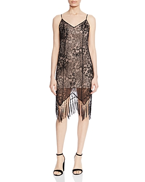 Vintage Dresses Australia- 1920s, 30s, 40s, 50s, 60s Styles Haute Hippie Flapper Beaded Lace Fringe Slip Dress AUD 297.85 AT vintagedancer.com