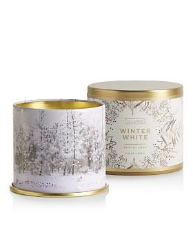 Illume - Winter White Large Tin Candle