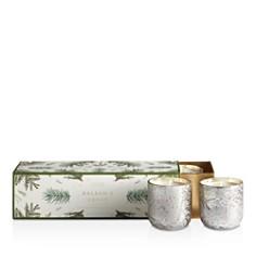 Illume - Balsam & Cedar Mini 3-Piece Mercury Candle Set