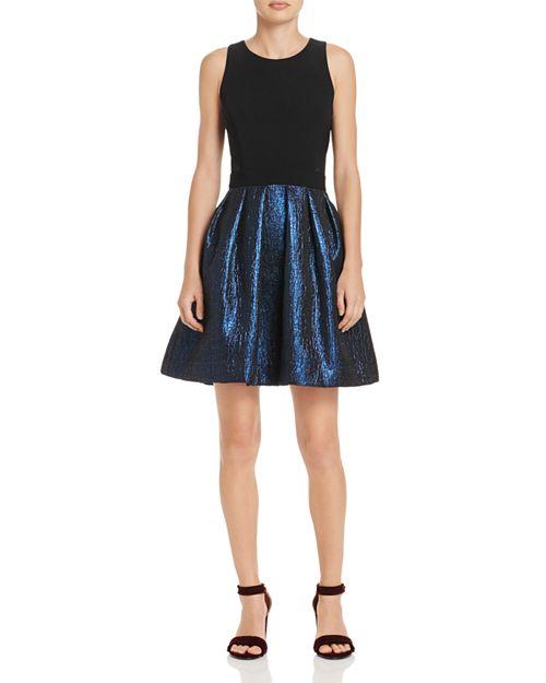AQUA - Fit-and-Flare Dress - 100% Exclusive