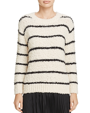 Vince Stripe Textured Sweater