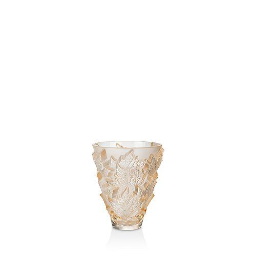 Lalique - Champs-Elysées Small Vase, Gold Luster