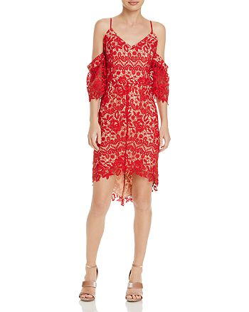 Adelyn Rae - Krista High/Low Lace Dress