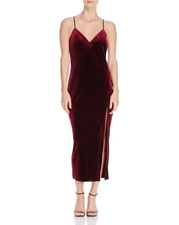 $Bardot Raven Velvet Cami Dress - Bloomingdale's