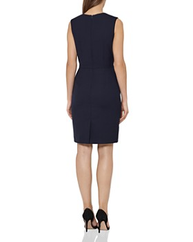 REISS - Faulkner Tailored Sheath Dress