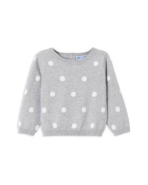 Jacadi Girls' Polka Dot Sweater - Baby