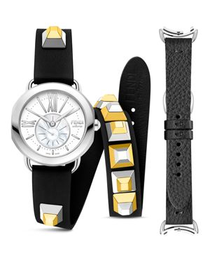 SELLERIA WATCH WITH INTERCHANGEABLE STRAPS, 36MM