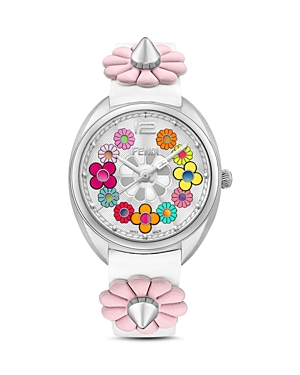 Fendi Momento Flowerland Watch, 34mm