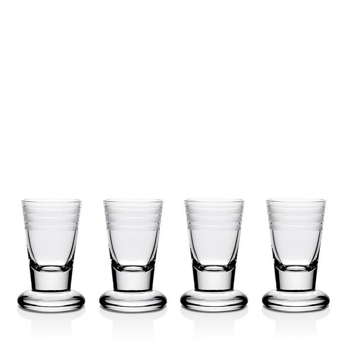 William Yeoward Crystal - Crystal Madison Firing Glass, Set of 4