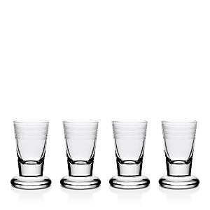 William Yeoward Crystal Madison Firing Glass, Set of 4