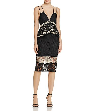 La Maison Talulah - Analog Body-Con Lace Dress