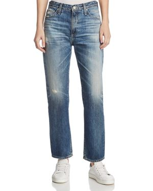 Ag Isabelle Straight-Leg Jeans In 23 Years Wind Worn 2704118
