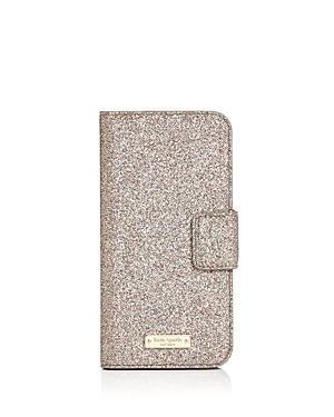 kate spade new york Glitter Wrap Folio iPhone 7/8 Case