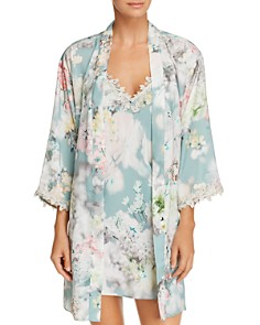 Flora Nikrooz Kaylee Kimono Robe & Chemise - Bloomingdale's_0