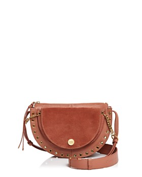 See by Chloé - Kriss Small Suede & Leather Crossbody