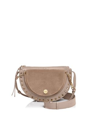 See by Chloe Kriss Small Suede & Leather Crossbody