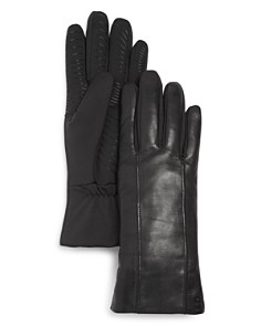 U/R Leather Tech Gloves - Bloomingdale's_0