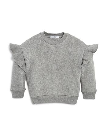 Burberry - Girls' Frill Sweatshirt - Little Kid, Big Kid