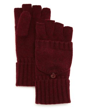 C by Bloomingdale's Pop Top Cashmere Mittens - 100% Exclusive 3036544