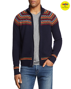 -Michael Bastian Fair Isle Zip-Front Cardigan Sweater - GQ60, 100% Exclusive