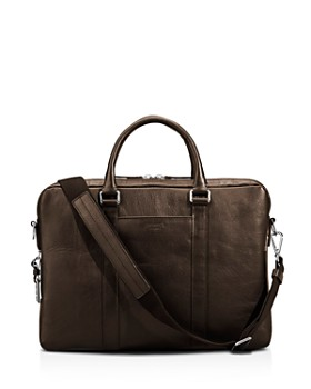 Shinola - Slim Leather Computer Briefcase