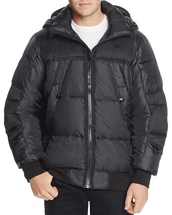 4276610cd0174 G-STAR RAW Whistler Hooded Bomber Jacket | Bloomingdale's