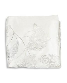 Michael Aram - Ginkgo Leaf Embroidered Throw