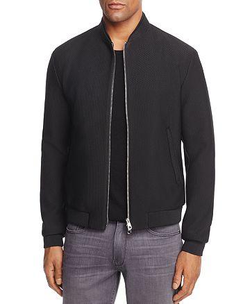 Armani - Textured Bomber Jacket