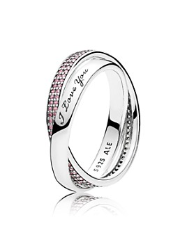 Pandora - Ring - Sterling Silver & Cubic Zirconia Sweet Promise